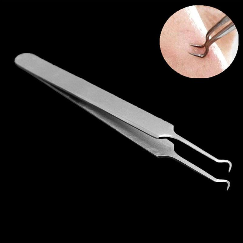 Buy 2 Bend Curved Whitehead Blackhead Acne Clips Face Pore Cleaner Nose Blackhead Remove Black spot cleaner Face Skin Care Tool for $1.39 in AliExpress store