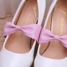 Detachable Bow Souvenir Band Belts for Making Shoelaces Shoe Loose Soles High Heel Shoes Decoration
