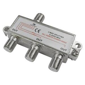 Image 1 - Répartiteur de prise CLCU 3 voies F séparateur de signal de ciel satellite 1 en 3 sorties