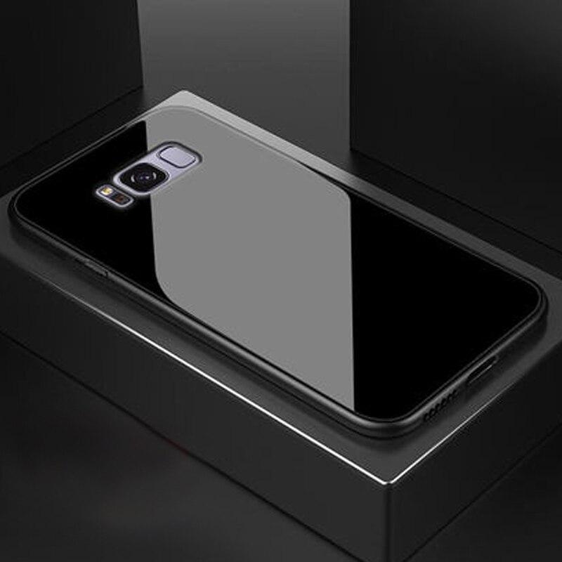 Glass Phone Capinha,Etui,Coque,Cover,Case For Samsung Galaxy S10 S8 S9 Plus S 8 9 10 S10plus S8plus S9plus Accessories