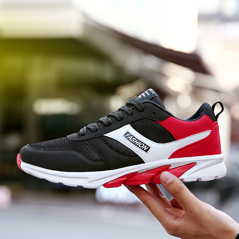2017 nueva llegada parejas zapatos atléticos Negro Azul zapatillas originales hombres de otoño al aire libre zapatos corrientes del deporte entrenadores