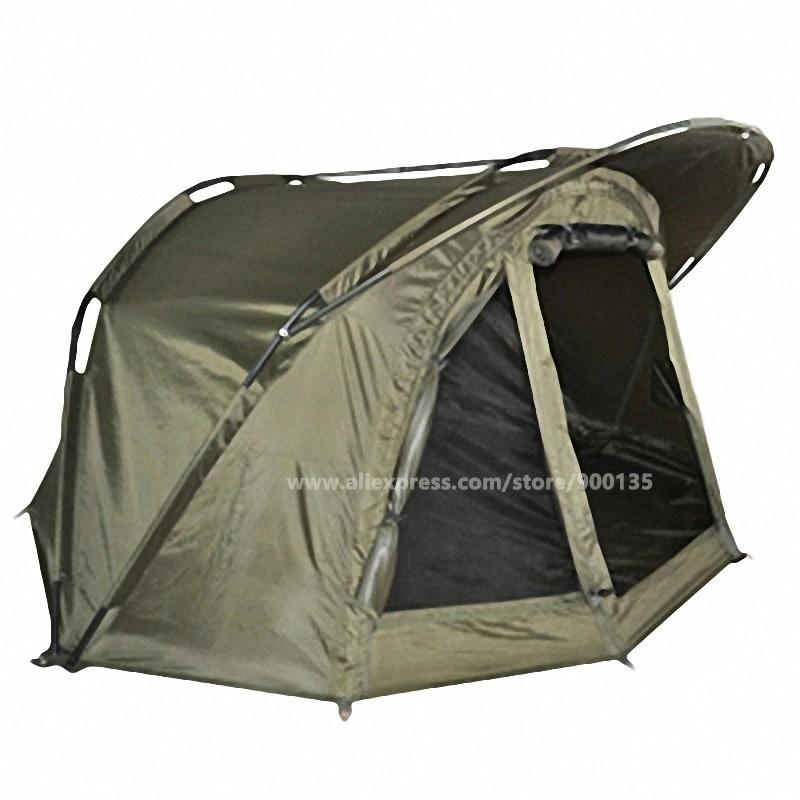 Olive Green Quick Erect Waterproof Carp Fishing Bivvy Tent