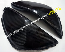 Hot Sales,2 x Carbon Fiber Tank Side Covers Panels Fairing For Honda CBR1000 08-11 CBR 1000 RR 2008-2011 Tank Side Cover Panel