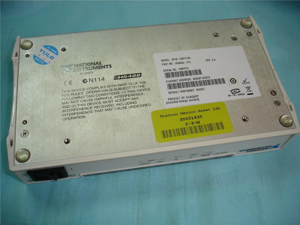Pour 95% nouveau contrôleur USA NI GPIB-ENET/100 GPIB vers Ethernet 186852F-01