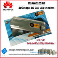 New Original Unlock 100Mbps HUAWEI E398 4G LTE USB Modem With Sim Card Slot Support LTE FDD 900/1800/2100/2600 Mhz