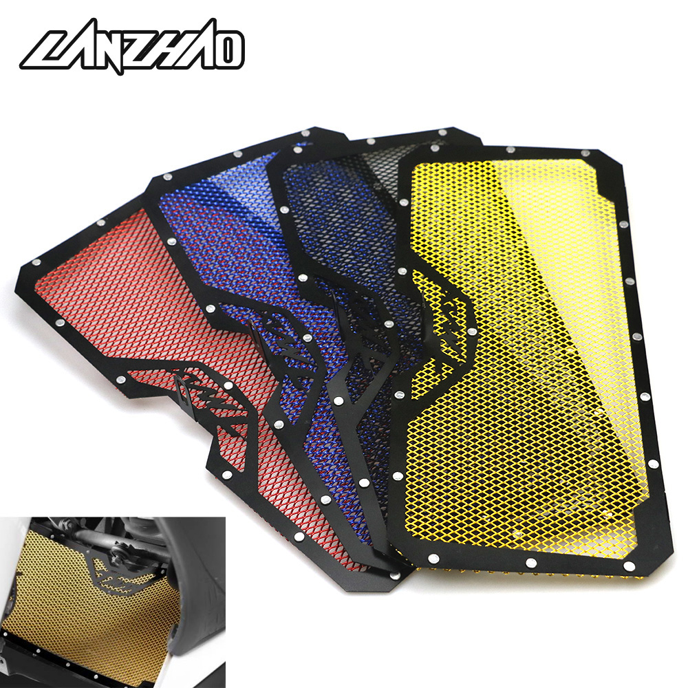 For Yamaha T-max 530 500 Motorcycle Radiator Guard Black Gold Blue Red Grill Bezel Cover Water Cooler Stainless Steel Protector