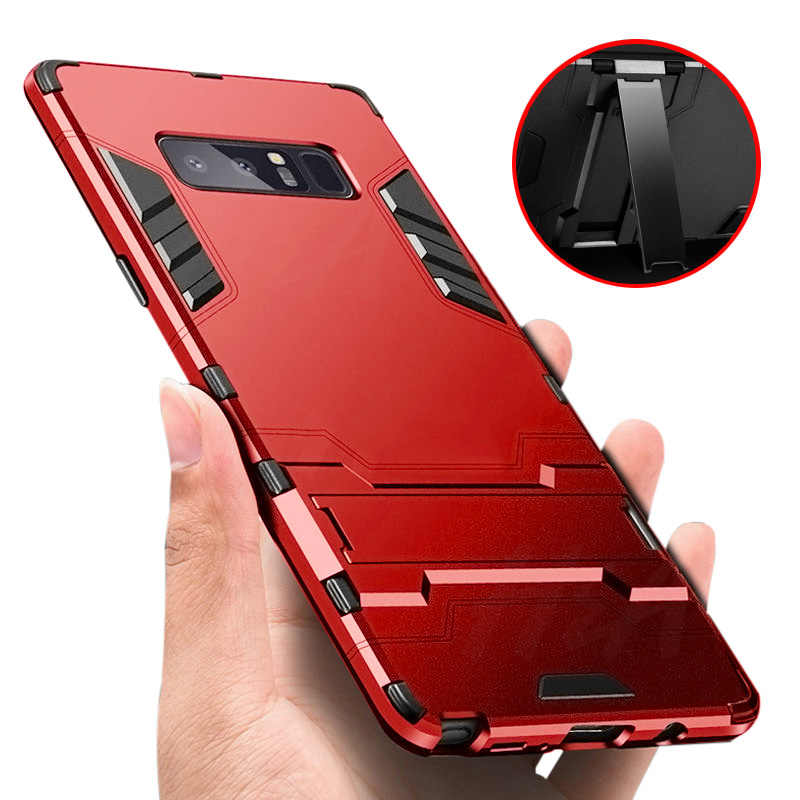 Full Cover Shockproof Armor Phone Case For Samsung Galaxy S9 S8 Plus S7 Edge Note 8 Matte Protective Cover for S10 Plus e Case