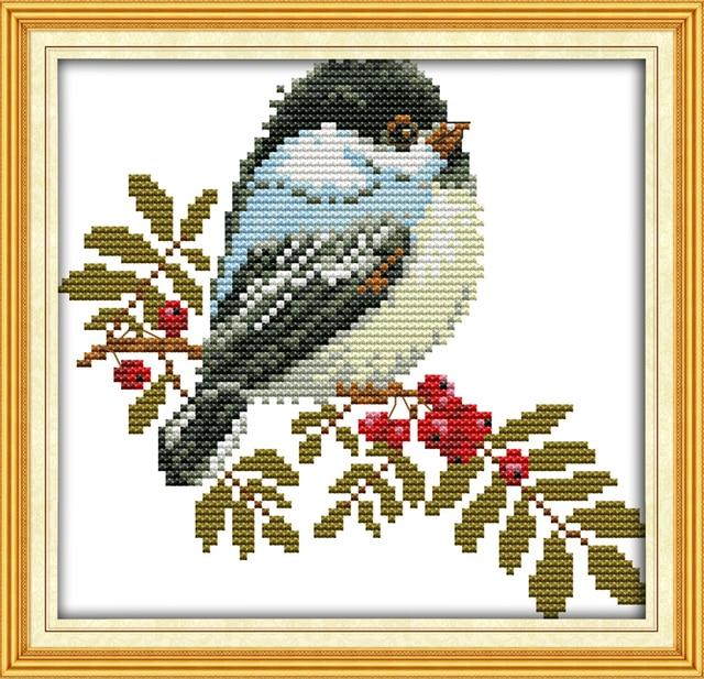 Joy Sunday A Nice Little Bird Patterns Counted Cross Stitch Sets