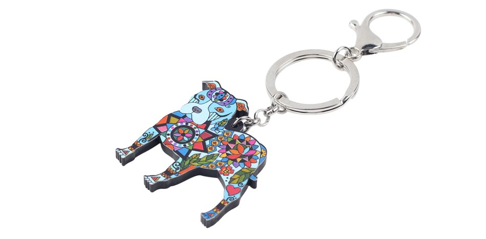 PitBull Key Chain