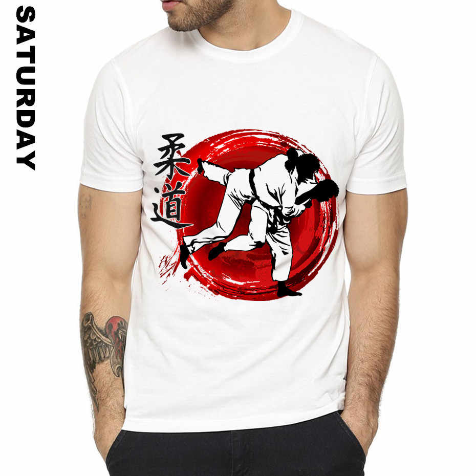 Мужская забавная футболка с дизайном дзюдо для мужчин и женщин, удобная дышащая футболка унисекс, мужская одежда
