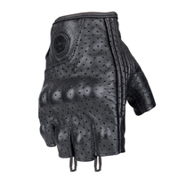 Genuine Leather half finger Motorcycle Gloves Scoyco Summer Motocross Racing Gloves sheep skin goat leather MC43 SWX moto