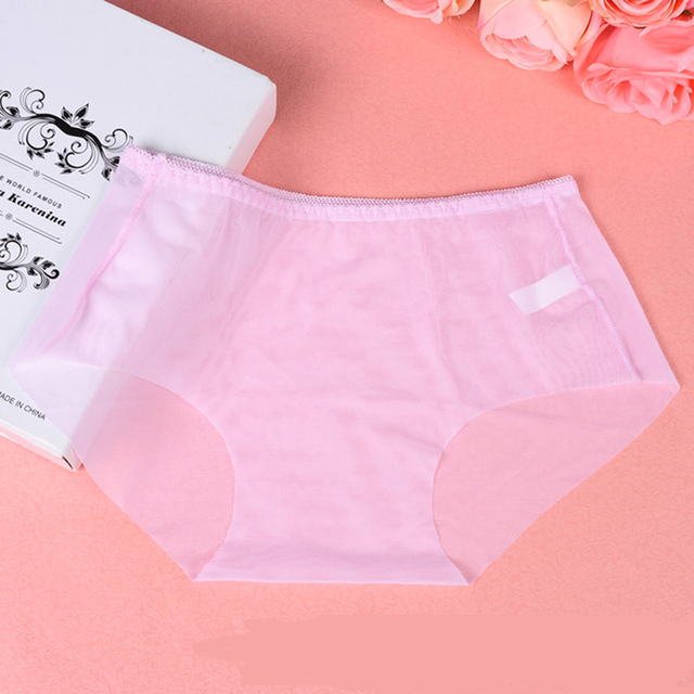 eee54d70004 SP CITY Hot Sexy Seamless Panties Full Transparent Invisible Briefs Women s  Plus Size Underwear Cheap Underwear for