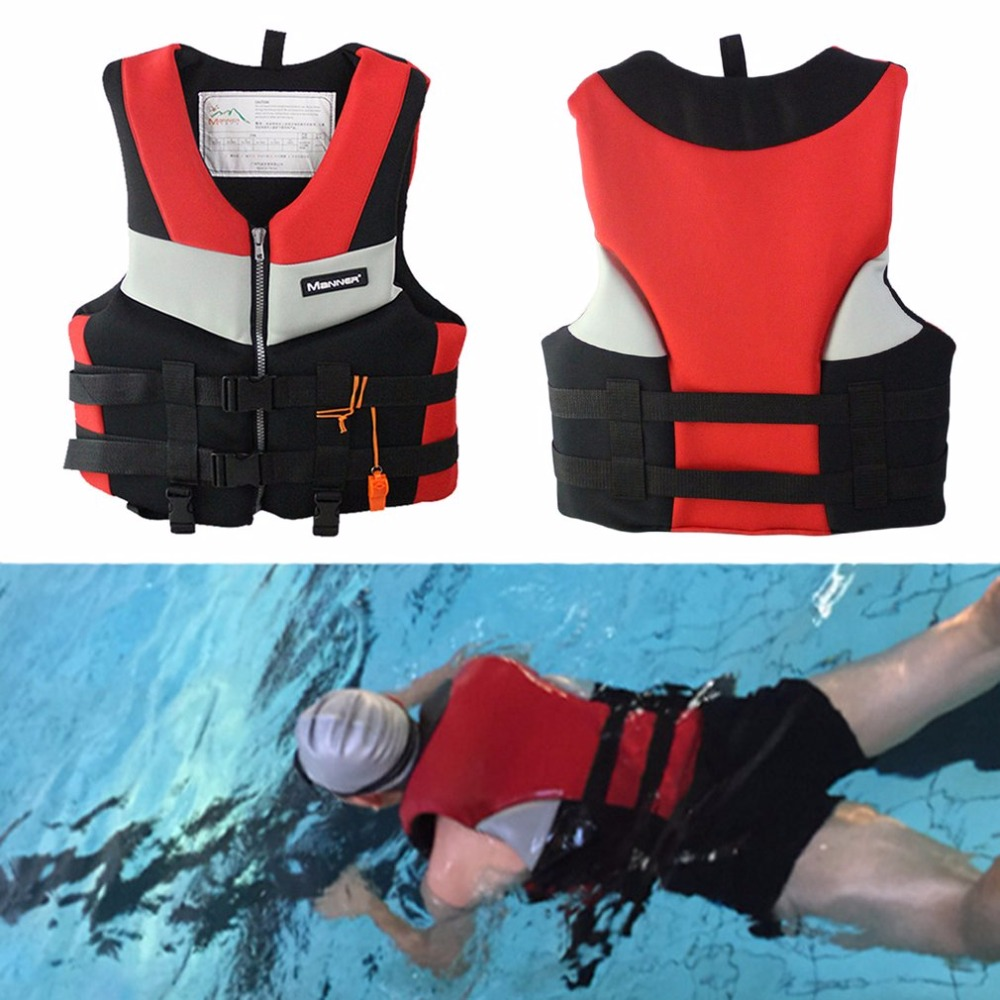 Adults Life Jacket Professional Universal Swimming Boating Skiing Drifting Fishing Foam Vest Thickened Life Vest S-XXL neoprene surfing floating life vest rafting snorkeling pfd inflatable kids women men life jacket swimwear swimming jacket life