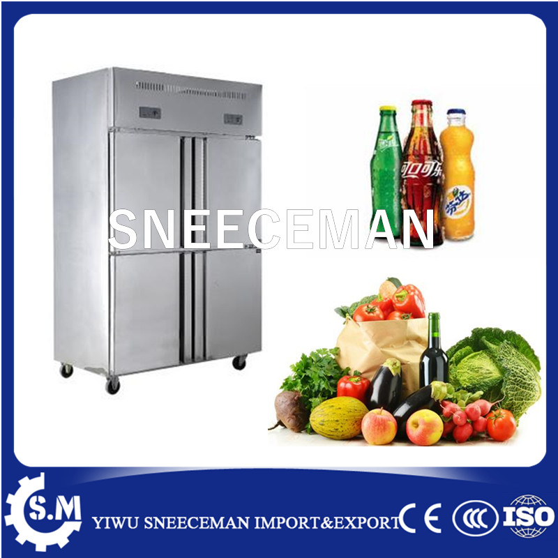 1000L Stainless Steel Commercial Kitchen Freezer