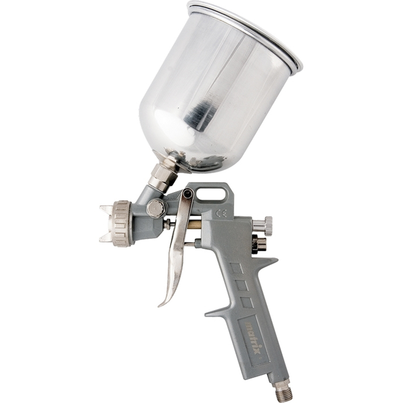 Фото - Spray gun pneumatic MATRIX 57315 portable gravity type w 77s pneumatic spray gun with non corrosive alloy pot diameter100 150mm for wooden furniture car wall