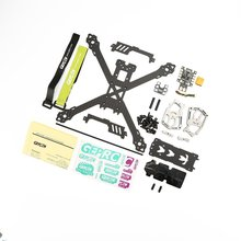 GEPRC GEP-KX5 Elegant FPV Racing quadcopter 243MM Wheelbase 7075 aviation aluminum 3K carbon fiber frame TRUE X freestyle f cloud gepu gep vx5 through machine four axis carbon fiber through the rack x frame aluminum alloy keel structure