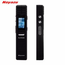 NOYAZU X1 Professional 8GB Digital Voice Recorder Long Time Recording Voice Activated Dictaphone Mp3 Player U Disk Black(China)
