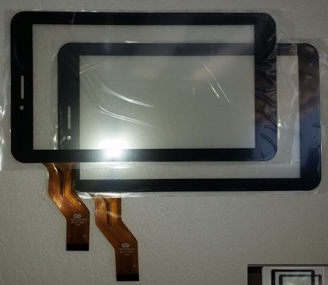 10PCS 7inch for Irbis TX18 3G tablet pc capacitive touch screen glass digitizer panel