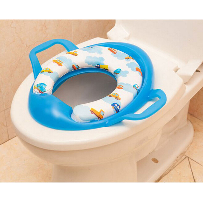 Baby Soft Toilet Training Seat Cushion Child Seat With Handles ...
