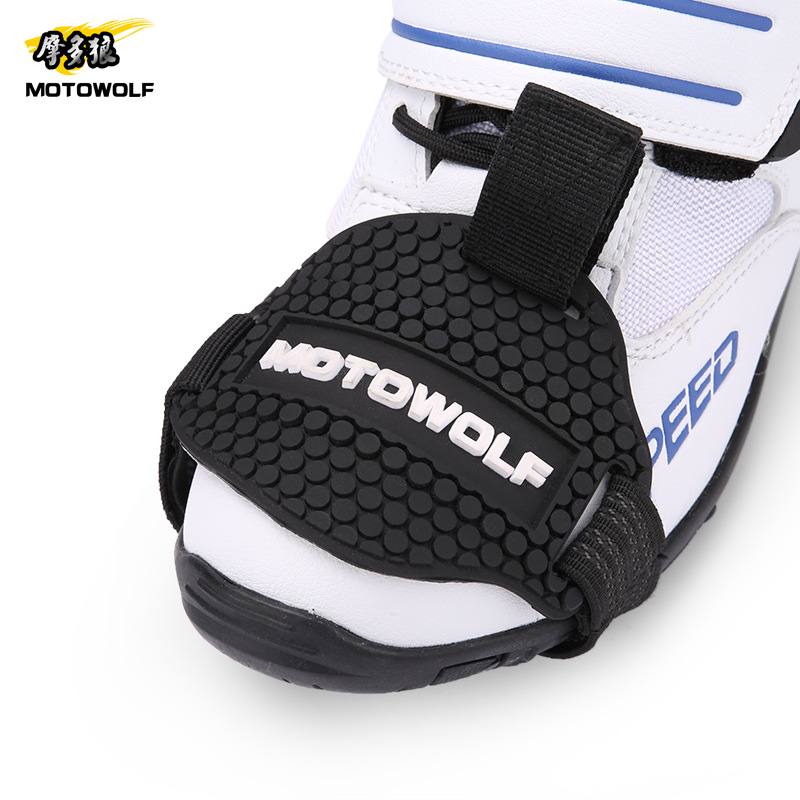 Motorcycle Accessories Rubber Gear Shifter Shoe Boots Protector Shift Sock Boot Cover Protective Gear