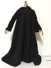 1/6 Male Action Figures Black Cloak Model Accessories