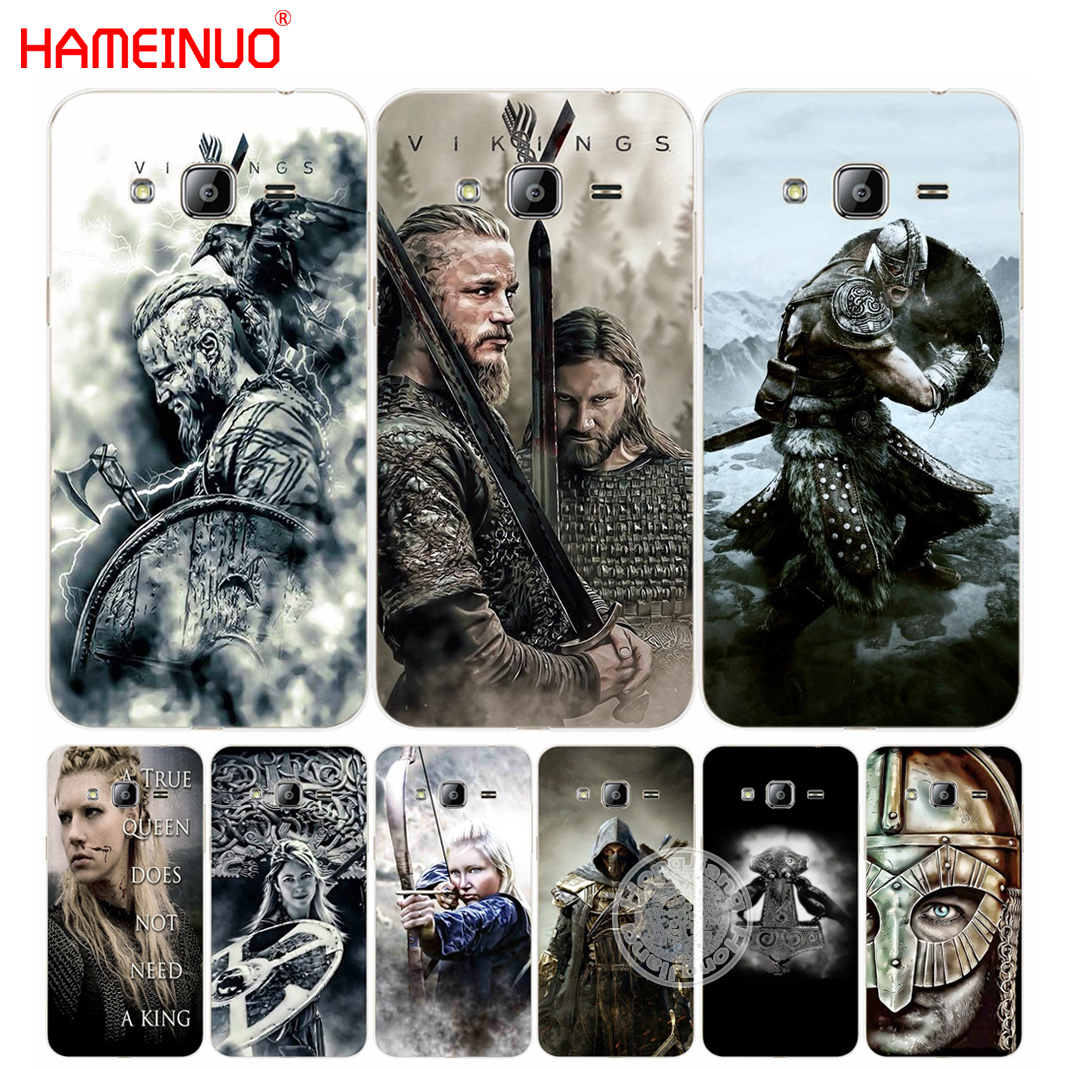 HAMEINUO vikings Ragnar Lothbrok 5cover phone case for Samsung Galaxy J1 J2 J3 J5 J7 MIN ...