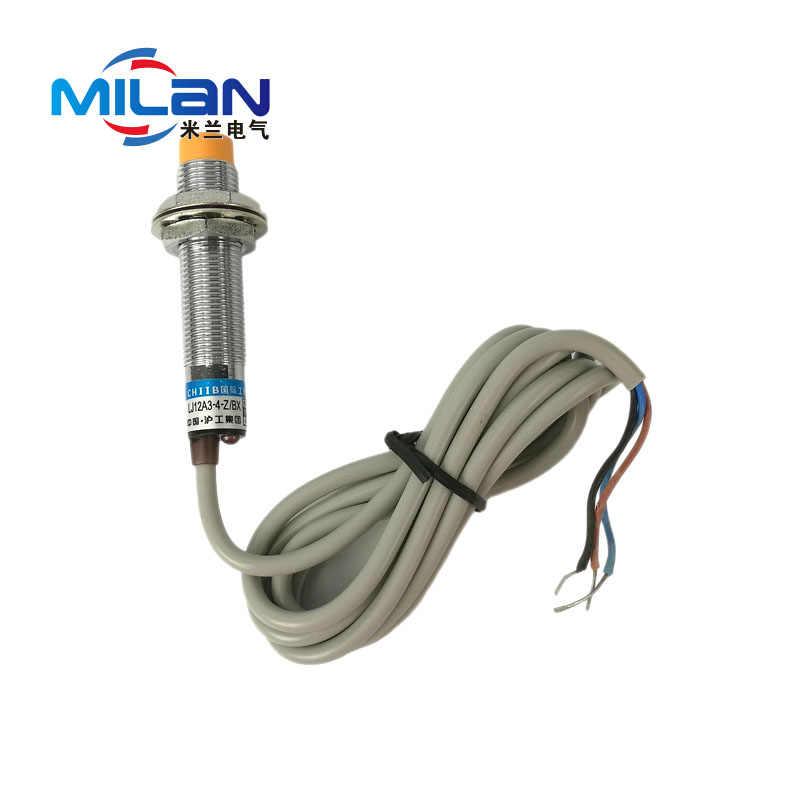 1 PCS LJ12A3-4-Z/BX Inductive Proximity Sensor Beralih NPN DC6-36V untuk 3D Printer Auto Leveling Baru