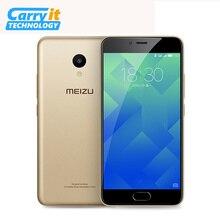 "Original Meizu M5 Mobile Phone 3GB 32GB MTK MT6750 Octa Core 5.2"" 1280 x 720 13.0MP Camera Cellular Fingerprint"
