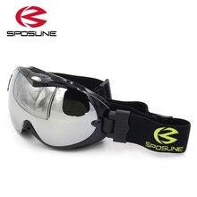 Snowboard Goggles Skibril Glasses Skiing Eyewear Double-Lens Anti-Fog Winter Women UV400