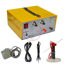 купить 80A spot welding hand - held pulse spot welder welding machine welding machine gold and silver jewelry processing дешево