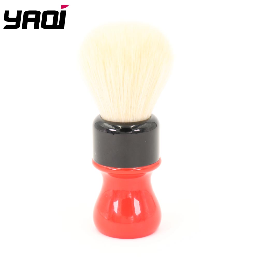 Yaqi 24mm Ferrari Rough Complex Black  Version Best Quality Cashmere Synthetic Hair Shaving Brushes