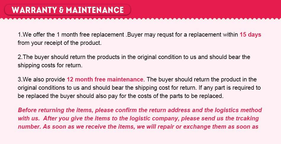 euwarranty maintenance