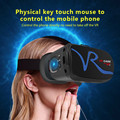 All IN ONE VR Glasses VR CASE VR Headset Virtual Reality Glasses for 4-5.8 inch iPhone Mobile 3D IMAX Touch Control