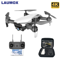 LAUMOX M69G FPV RC Drone 4K Camera Optical Flow Selfie Dron Foldable Wifi RC Quadcopter Helicopter VS VISUO XS816 SG106 M70 X12