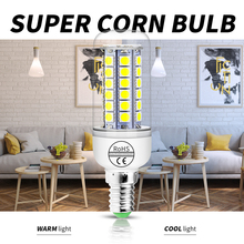 E14 Led Light Bulb E27 Candle Lamp 220V Corn 5W 7W 9W 12W Energy Saving Ampoule Bulbs For Home 5050 SMD Chandeliers