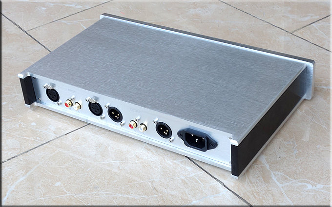 breeze audio aluminum pream/amplifier chassis 6010 case/enclosure breeze audio diy aluminum chassis power