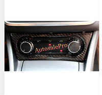 Real Carbon Fiber Dashboard Air Condition Adjust Switch Button Cover trim 1pcs For Benz A Class W176 2012 2013 2014 2015