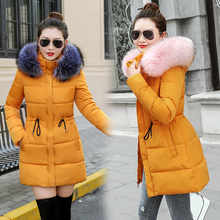Faroonee 2018 Womens Winter Wool Coat Lapel Collar Long Slim Warm Outerwear Open