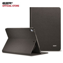 Case for iPad Pro 10.5, ESR Simplicity Oxford Cloth PU Leather Smart Cover Folio Stand Casual Style Case for iPad Pro 10.5 inch