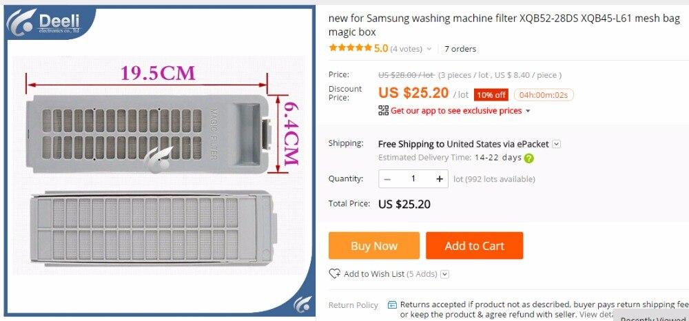 1 шт. новый для стиральной машины фильтр XQB52-28DS XQB45-L61 мешок сетки magic box