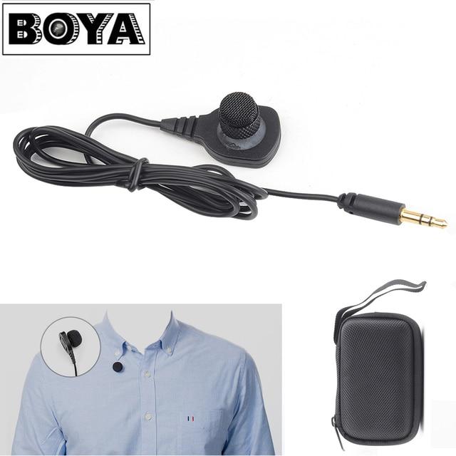 Boya By Hlm1 Omnidirectional Condenser Lapel Pin Mount Style Hidden