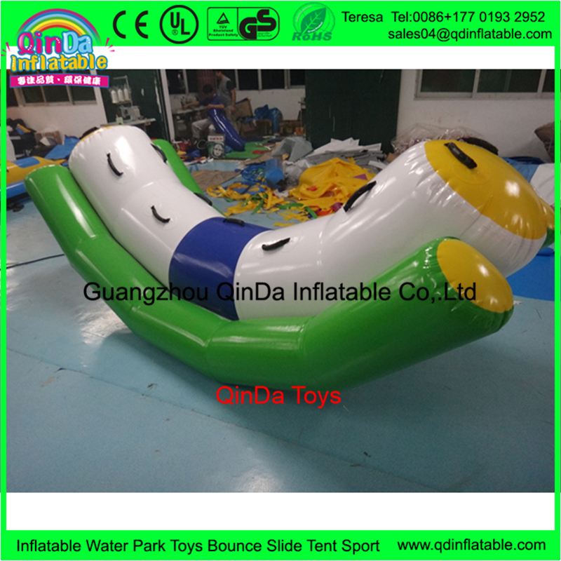 inflatable water tube seesaw17