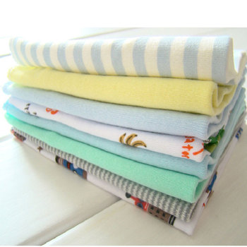 8PcsPack Baby Bibs Burp Cloths Cotton Newborn Infant Toddler Baby Towels For Boys Girls Washcloth Bib With Colorful Patterns Младенец