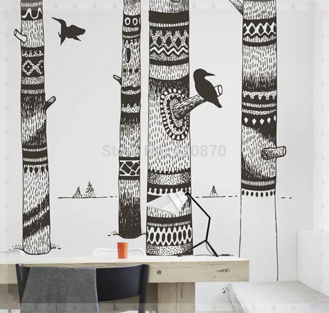 Large Background Wallpaper Wall Sticker Wall Paper Murals Decoration