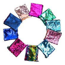 Women Sequins Bling Zipper Wallets Purse Clutch Bags Girl Square Coin Purse Card Holders Mobile Phone Key Case кошелек(China)