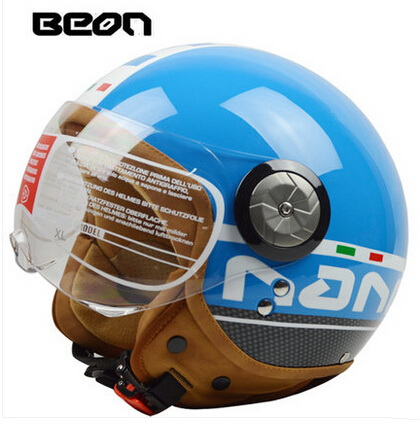 2017 vintage women men BEON B100 motorcycle helmet ,motocross moto motorcycles racing motorbike helmets scooter equipment