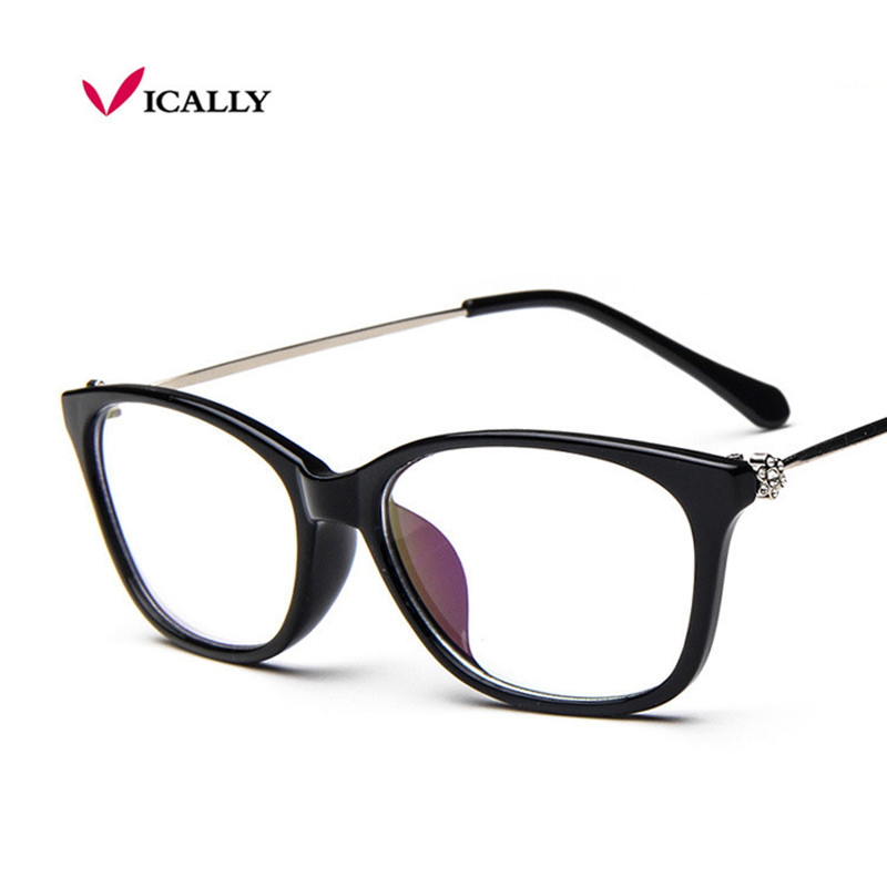 vintage fashion diamond sexy cat eye retro eyeglasses glasses frame women clear lens eyewear glasse frame