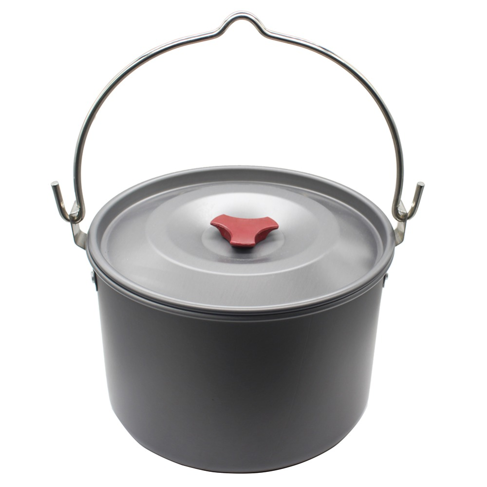 outdoor tableware hanging pot camping hiking backpacking cookware