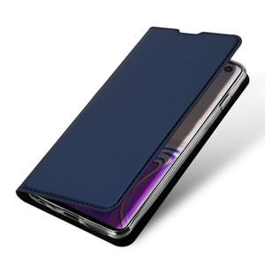 Image 4 - DUX DUCIS deri Flip Case Samsung Galaxy S10 Coque cüzdan kılıf kapak Samsung Galaxy S10 artı e r e r e r e r e r e r e r e r e r e r 10 s10e S10 5G Funda