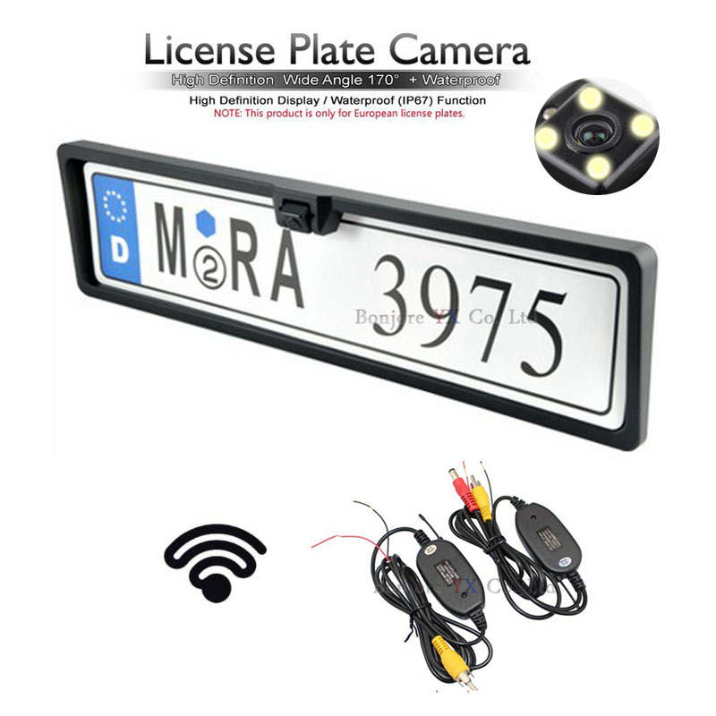 NºWireless video Transmitter and Receiver For Parking Car Europe ...
